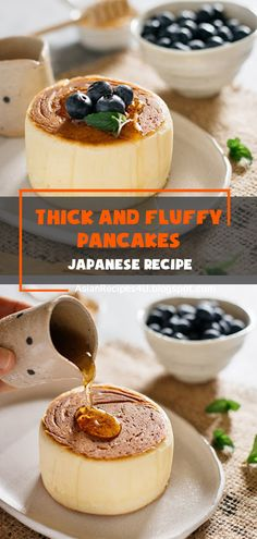 Look at these Extra Thick and Fluffy Japanese Pancakes! Is your mouth watering? Mine is. These pancakes were a big indulgence and may have cost me a few calories, but it was so worth it. This special treat tasted truly amazing; they were super soft, fluffy, spongy, thick, and oh-so-delicious! #Japanese #Recipes #Pancakes Healthy Appetizers, Healthy Dinner Recipes, Great Recipes, Breakfast Recipes, Favorite Recipes, Japanese Recipes, Japanese Food, Asian Recipes, I Love Food