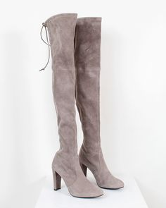 Brand Name Shoes, Knee Boots, Fashion, Moda, Fashion Styles, Knee Boot, Fashion Illustrations, Knee High Boots, Over Knee Boots