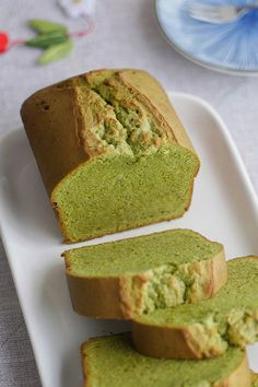 Green Tea Dessert, Matcha Dessert, Matcha Cake, Green Tea Cakes, Green Tea Recipes, Sweet Recipes, Comfort Foods, Desserts Japonais, Baking Recipes