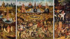 tríptico jardín  de  terrestre  Delicias , Óleo sobre tabla de Hieronymus Bosch (1450-1516, Netherlands)