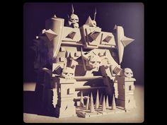 3D Low Poly Concept Artist Paul Lamy