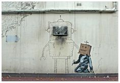 Edge Of The Plank: Banksy- New Graffiti in London (Oct 2010)