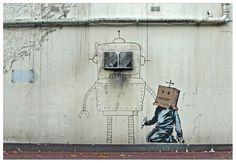 Edge Of The Plank: Banksy- New Graffiti in London (Oct 2010)