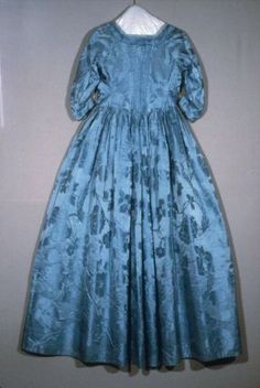 Dress  American, 1752; restyled about 1775  Woven by Simon Julins, English, 1688–1774  Designed by Anna Maria Garthwaite, English, 1690–1763