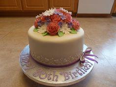 80th Birthday Cake, via Flickr.