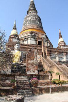 Ancient China ruins | Walk Around Ancient Ayutthaya- the Ruins of Ancient Siam, Now Called ...