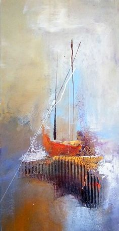 """Silvia Sailer, """"Segeltörn"""" With a click on 'Send as art card', you can send this art work to your friends - for free!"""