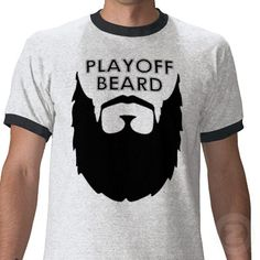 Funny shirt for Playoff Beard Enthusiasts
