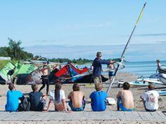 Obozy kitesurfingowe dla najmłodszych