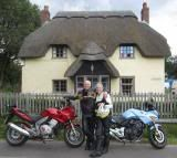 Just passed our bike licences his and hers Honda's