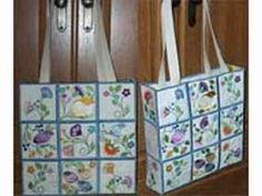Jacobean Tote Bag Machine Embroidery Designs http://www.designsbysick.com/details/jacototebag..M.Taylor : I do not do machine embroidery but ran across these designs and thought they were beautiful! Could posssibly change them to hand embroidery designs?