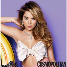 Ashley Benson Covers Cosmopolitan, Speaks on Pressure to Go Nude ❤ liked on Polyvore featuring ashley benson, people and pretty little liars