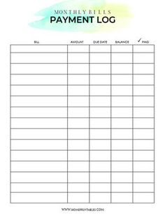 Get this free monthly bill payment organizer printables to keep your finances in order. It will help you organize your monthly bills and zero down your credit! Print and use this binder immediately! Bill Planner, Monthly Budget Planner, Planner Pages, Budget Binder, Monthly Expenses, Budget Spreadsheet, Money Planner, Bill Payment Organization, Budget Organization