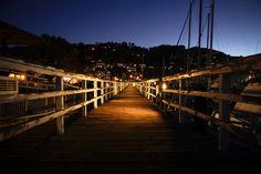Sausalito - magical at night.