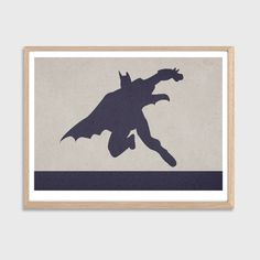 Batman Poster  Modern DC Comics Superhero by SealDesignStudio, $15.50