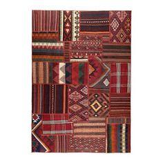 PERSISK KELIM TEKKEH Tæppe, fladvævet IKEA Alle tæpper har et unikt og traditionelt persisk mønster.