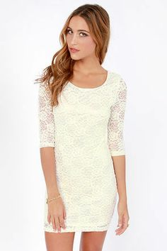 Lacy dress. Keeping for sewing idea