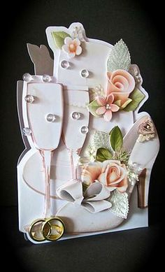 Card Gallery - From This Day Forward... Shaped Wedding Card Mini Kit
