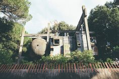 ARCHISEARCH.GR - THE ABANDONDED RUINS OF BRUTALISM: CASA SPERIMENTALE, ITALY