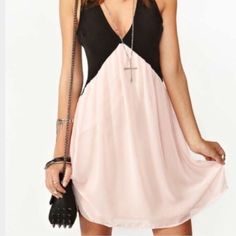 NWT PINK/BLACK DRESS NWT! All offers welcome  Dresses Mini