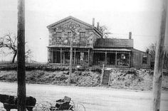 The Stone House on East Lake Road near Water Street, was built by the Crowley family and was believed to have been on the Underground Railroad Circuit (1915)