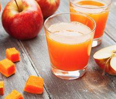 zanahoria y manzana