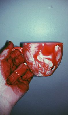 You must have your daily cup blood. things  Blood lusted people say