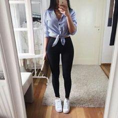 camisa y leggings