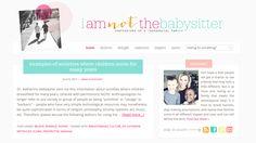 Recent Work // I am Not the Babysitter http://www.iamnotthebabysitter.com/
