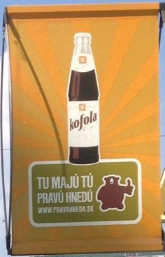 Kofola is tasty Slovak drink. European Countries, Sauce Bottle, Soy Sauce, Czech Republic, Water Bottle, Tasty, Drinks, Drinking, Beverages