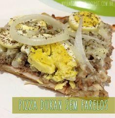 Pizza Dukan sem Farelos - Fase de Cruzeiro