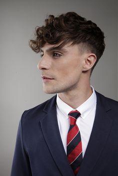 Hairstyles. men. curly hair