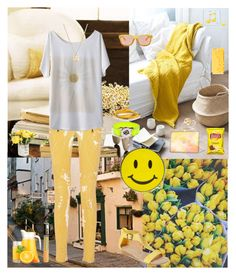 """""""It's Gonna Be Good Day☀️😉🍋🐶"""" by oksana-kolesnyk ❤ liked on Polyvore featuring Balmain, Michael Kors, Natasha, Happy Plugs, Gucci, Bing Bang, Kenneth Cole Reaction, Marc by Marc Jacobs and Topshop"""