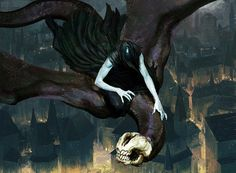 Magic The Gathering Guilds of Ravnica illustrations, Igor Kieryluk Alien Concept Art, Creature Concept Art, High Fantasy, Dark Fantasy Art, Fantasy Artwork, Angel Demon, Sky Watch, Mtg Art, Fantasy Monster