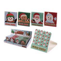 Saisonale Spaß Weihnachts-Design Nagelfeile Matchbook Puc... https://www.amazon.de/dp/B00OAB5XDE/?m=A105NTY4TSU5OS