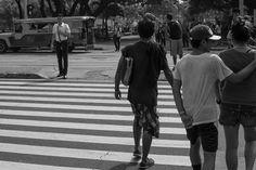 Crossing . . . . . . #street #street_bw #streetpinas #streetphotography #streetphoto_bw #ig_street #ig_streetphotography #photostreet  #streetphotos #kalye #kalyepinas #kalyeph #bw #blackandwhite #blackandwhitephotography #manila #streetsnap #photowalk #streetsofmanila #streetlifemanila #everydaystreet #streetphotographerscommunity Street Photography, Street View, Instagram