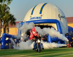 Texas A&M Kingsville Javelinas Run thru