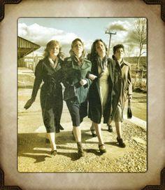 The Beautiful Bomb Girls...Season One