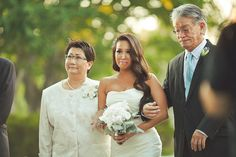 emotional walk down the aisle... photos by Orange Turtle Photography http://su.pr/19rqmj