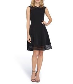 Shop for Tahari ASL Illusion Cut Out Fit-and-Flare Dress at Dillards.com. Visit Dillards.com to find clothing, accessories, shoes, cosmetics & more. The Style of Your Life.
