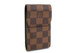 Louis Vuitton Etui a cigarettes Cigarette case Damier Eben N63024(BF063088). All of eLADY's items are inspected carefully by expert authenticators who have years of experience.