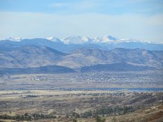 Front Range from Daniels Park by pathensch, via Flickr