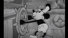 Mickey Mouse: Steamboat Willie (1928), via YouTube.