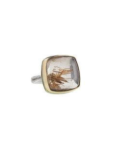 Jamie Joseph - Square Rutilated Quartz Ring
