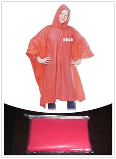 Rain poncho is made of PVC material, durable and reusable. The thickness of this poncho is 10 mil. Waterproof Poncho, Rain Poncho, Pvc Material, Brand Names, How To Wear, Color, Fashion, Ponchos, Moda