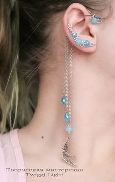 DIY ear cuff (I like this)