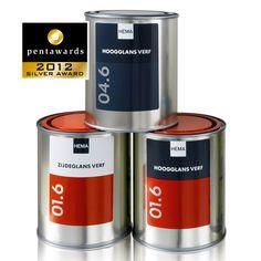 Silver Pentaward 2012 Other markets – Distributors/Retailers own brands Brand: HEMA – PAINTS Entrant: PROUDdesign BV Country: NEDERLANDS www.prouddesign.nl