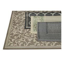 Assorted Patio Area Rugs at Big Lots.6X9  for $49?! Two of these will cover our covered back patio! I hope I can find two that are the same and use them for that space!