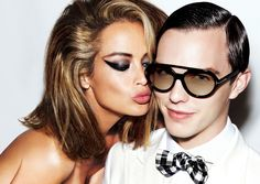 74d113449fa4 I ve always loved the makeup look from Tom Ford Eyewear Campaign 01