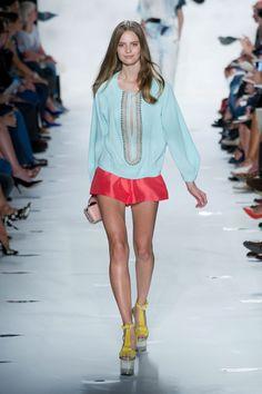 Diane von Furstenberg at New York Fashion Week Spring 2013 - StyleBistro